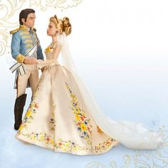 The Cinderella Film Collection Cinderella & The Prince is a two-doll set of Cinderella and the prince in wedding attire based on Disney's live-action Cinderella.