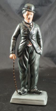 Royal Doulton Figurine Charlie CHAPLIN HN 2771 #208 OF 5000 by RarebirdAntiques on Etsy