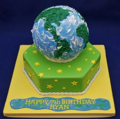 globe cakes - Google Search