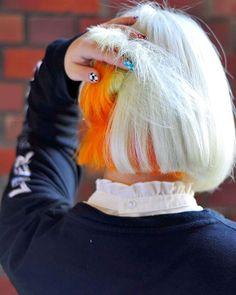 WEBSTA @ soleige - #インナーオレンジ#外国人風カラー #ソレイジュ#soleige#派手髪 #神戸北野#美容室#マニックパニック #マニパニ #manicpanic#写真#ポートレート Split Ends, Colorful Hair, Her Hair, Hair Ideas, Hair Color, Hair Beauty, Long Hair Styles, Instagram, Fashion