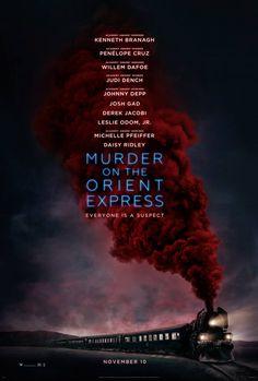 In november komt de remake uit van Agatha Christies Murder in the Oriënt Express... als whodunit, film en Christie fan kan ik niet wachten!! En Johnny Depp speelt mee!