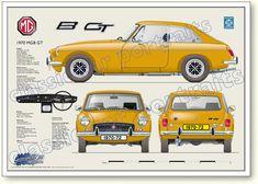 MGB GT design from 1970 untill 1972