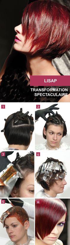 Step by step de Lisap   Une transformation spectaculaire. Réalisation: 40 minutes