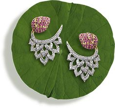 Tanishq Niloufer Collections - Latest Jewellery Designs for Women Ruby Jewelry, Ethnic Jewelry, Bridal Jewelry, Jewelry Art, Diamond Jewelry, Jewelry Design, Tanishq Jewellery, Gold Jewellery, Latest Jewellery