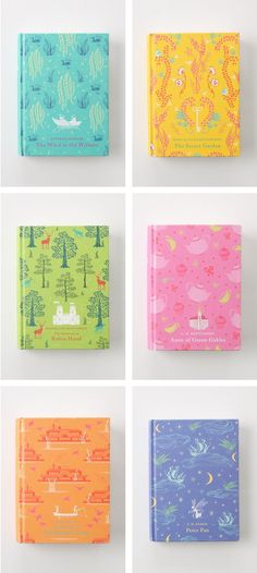 new clothbound covers of classic books from penguin.  Does anyone know who designed them?