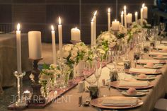 Wedding reception flowers by Kate Dawes Flower Design