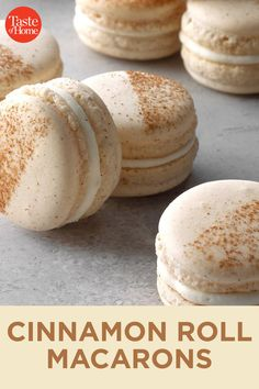 French Macaroon Recipes, French Macaroons, Best Macaroon Recipe, French Desserts, Fun Desserts, Delicious Desserts, Dessert Recipes, Yummy Food, Yummy Cookies