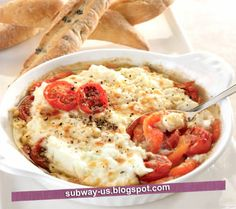 baked ricotta with roasted tomatoes recipe