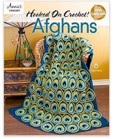 SWEET SEWING PATTERNS: Stunning Crochet Peacock Afghan