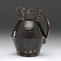 Hamada Shoji (attributed to) (1894-1978, Japan) Pitcher ca 1960