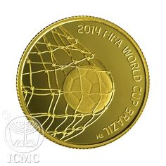 Isral Mint 2014 FIFA WORLD CUP BRAZIL™ Gold Coin