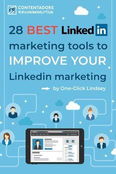 28 Best LinkedIn Marketing Tools to Improve LinkedIn Marketing Digital Marketing Strategy, Marketing Tools, Business Marketing, Content Marketing, Social Media Marketing, Marketing Strategies, Marketing Ideas, Linkedin Advertising, Facebook Marketing