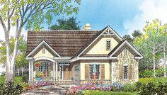 The Heathrow - Donald Gardner Cottage Style House Plan