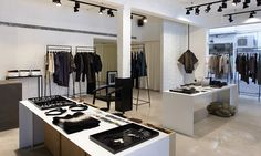 Ronen Chen store by Architect Guido Herszage, Tel Aviv   Israel fashion