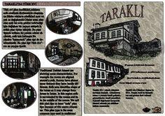 Taraklı'nın genel özelliklerini anlatan el broşürü tasarımı