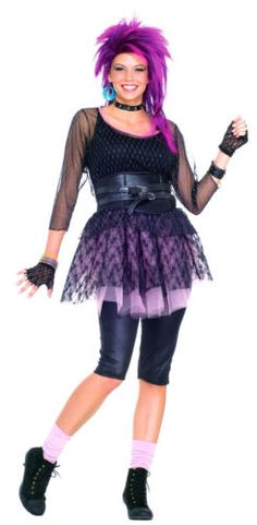 This was posted as a costume.  To me this was just high school, :(