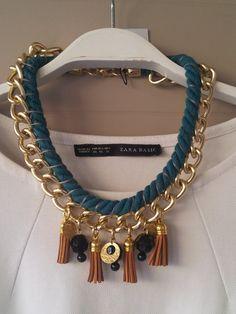 collana con fioccocollana di istruzione di Nefelislittlestore, €21.00