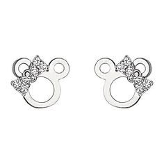 .925 Sterling Silver Rhodium Plated Mouse Ribbon CZ Stud Earrings with Screw-back for Children & Women The World Jewelry Center. $15.95. Promptly Packaged with Free Gift Box and Gift Bag. Screw Back. Special manufacturing process held to ensure less wear and tarnish. Rhodium coated for more shine.. From our exclusive Shimmering Collection, this item showcases the finest Sterling Silver available today!. Save 70%!