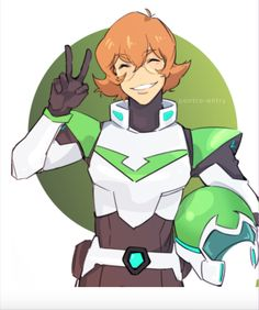 Pidge the Green Paladin from Voltron Legendary Defender