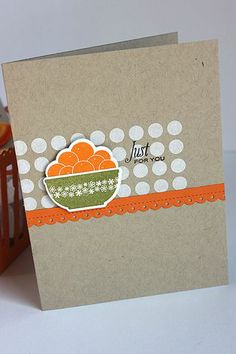 Just For You Card by Heather Nichols for Papertrey Ink (June 2014)