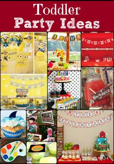 toddler party ideas