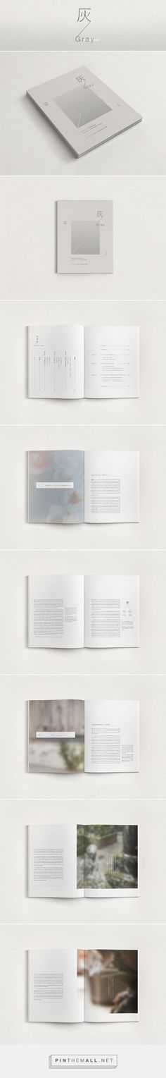 灰 / Gray - Architectural Book on Behance... - a grouped images picture