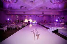 Simple elegance. #wedding #whitewedding #gold #dancefloordecor #dancefloor #weddingdecor #love #toronto #elegant #custom #weddingideas