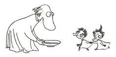 Taikurin hattu Moomin Tattoo, Small Tats, Tove Jansson, Museum Exhibition, Little My, Troll, Pencil Drawings, Folk Art, Scandinavian