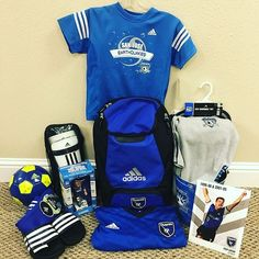 AUCTION ITEM (link in bio): San Jose Earthquakes Gift Package Autographed by Troy Dayak - Quakes backpack, Jersey Autographed by Troy Dayak, Autographed Troy Dayak Quakes bobble head, Autographed Troy Dayak Player Picture, Adidas slides, Adidas socks, Adidas shinguards, Adidas Soccer Ball Autographed by Troy Dayak, Toddler outfits.  Troy Dayak is a Bay Area legend, 2-time MLS Cup winner, and Earthquakes Hall of Famer. All funds go to a treatment for a 14 month old baby with Pediatric…
