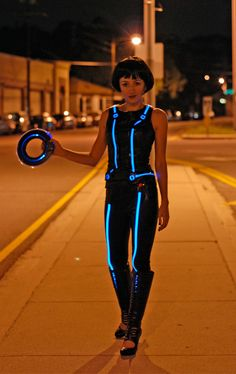 Tron- next years Halloween outfit!!!