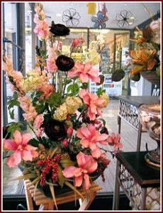 A beautiful artificial flower arrangement