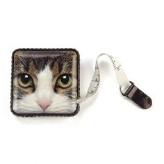 Catseye. Tabby Cat Tape Measure. - Cat and Dog Crazy