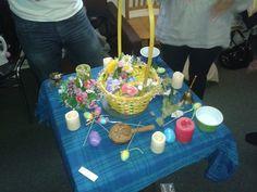 #witch #pagan #altar #ritual #ostara
