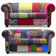 Oh random patchwork couches how I love thee.