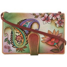 Sales Anuschka Handbags - 1108 (Jaipur Paisley) - Bags and Luggage new - Zappos is proud to offer the Anuschka Handbags - 1108 (Jaipur Paisley) - Bags and Luggage: Show off this beautiful crossbody designed in a colorful psychedelic hand painted print to compliment your trendy style.