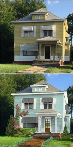 Before & After 1908 OKC Home