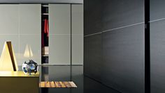 BEDROOM WARDROBE WITH SLIDING DOORS by LEMA available at Haute Living