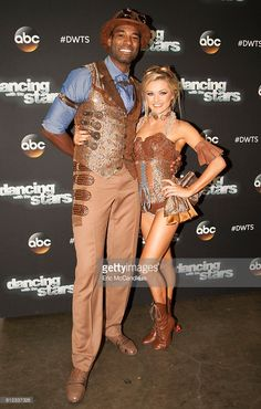 Calvin Johnson, Jr. and Lindsay Arnold - One of the biggest shows 'Dancing with the Stars' has ever put on will unfold on the ballroom floor, as the 11 remaining celebrities perform big spectacle dances for Cirque du Soleil(r) night, on 'Dancing with the Stars,' live, MONDAY, OCTOBER 3 (8:00-10:01 p.m. EDT), on the ABC Television Network.