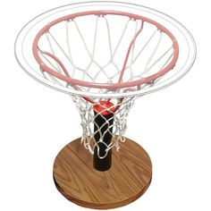 Spalding 30746 Basketball Themed Side Table