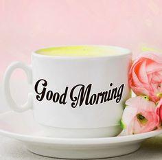 beautiful  good morning with tea images Good Morning Coffee Images, Good Morning Beautiful Pictures, Free Good Morning Images, G Morning, Morning Quotes, Morning Greeting, Finding Yourself, Tea, Mugs