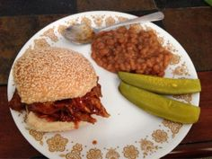 Wendy made this awesome pulled pork and baked beans with her Wolf Gang Puck Pressure Cooker! #comfortFood