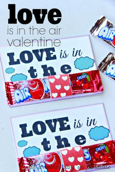 Love is in the Air Valentine {printable}