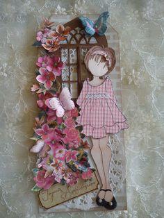 Bonjour à toutes, Aujourd'hui nous vous présentons un tag Prima Doll d'Athéna offert il y a quelques temps déjà à Scrapsoleil à l'occasion de son anniversaire. J'ai utilisé une chute de tissu pour créér la robe et le bandeau. d'un peu plus près quelques...