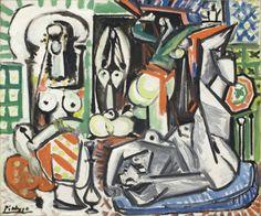 Pablo Picasso, Les femmes d'Alger (Women of Algiers), 1955