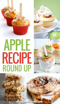 Bring on the apples, I'm ready for fall baking!  Great collection of delicious apple recipes!