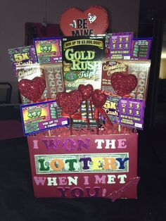 The Ultimate list of easy DIY Valentine's Day gifts for boyfriends. Man Bouquet made out of Lottery Tickets. The best Valentine's Day gifts for him. Funny Valentine, Diy Valentines Day Gifts For Him, Bday Gifts For Him, Valentine Day Crafts, Diy Valentine's Gifts For Him, Valentines Baskets For Him, Anniversary Gift Ideas For Him Diy, Birthday Ideas For Boyfriend, 25th Birthday Ideas For Him
