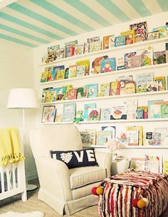 Kids bedroom. I probably have enough books to do this already