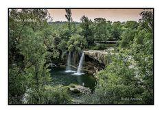 Iñaki Andrés: Cascada de Pedrosa de Tobalina. Burgos.