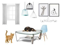 """""""Deco 4 , by Cloé, my little cousin, & me"""" by lisaboqt ❤ liked on Polyvore featuring interior, interiors, interior design, home, home decor, interior decorating, fferrone design, BDI and Eleanor Stuart"""