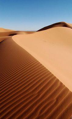 Desert in Morocco, Africa.